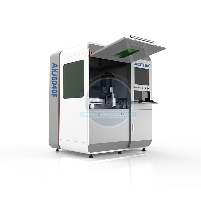 Free Consultation Grabadora Laser 500w Raycus Fiber Cnc Laser Laser Cutting Machine AKJ16040F
