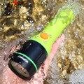 YUPARD Водонепроницаемый подводный ныряльщик 40 м XM-L2 led T6 белый желтый свет фонарик лампа перезаряжаемая батарея + зарядное устройство