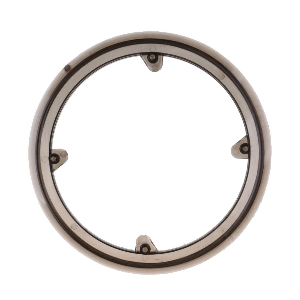 4-Hole Plastic Bike Bicycle Crankset Cap Protector Chain Wheel Cover Black