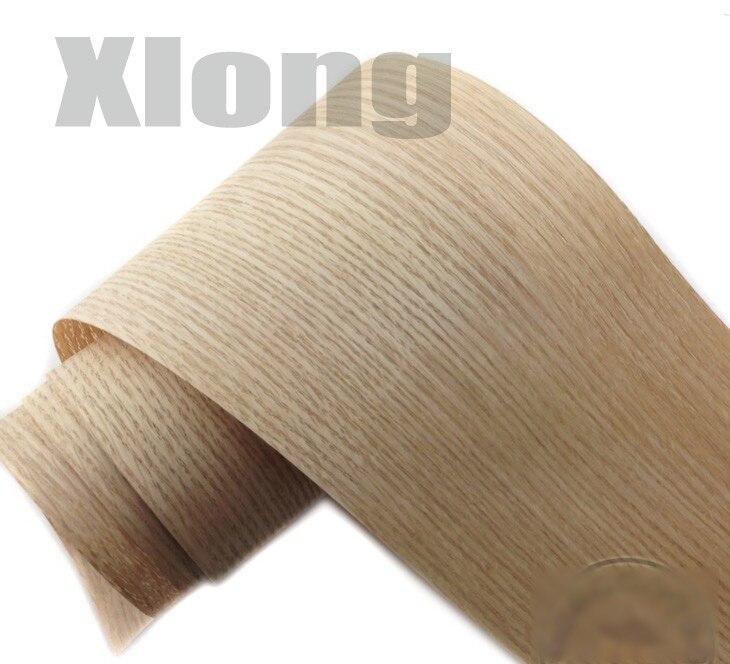 10Pieces/Lot L:2.5Meters Wide:150mm  Thickness:0.25mm  Oak Bark Wood Veneer  Furniture Decorative