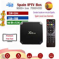 IPTV para España suscripción premium full HD españa local en vivo VOD IPTV espa a M3u smart tv VOD para caja de tv android ios tv pc pad