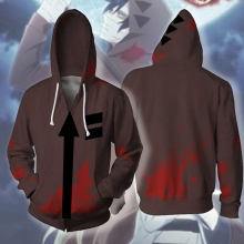 Sweatshirts Death-Costume Angels Zack Isaac Foster Cosplay Jacket Coat Hoodie Tops Zipper
