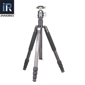 Image 2 - RT75C المهنية 10 طبقات ألياف الكربون ترايبود Monopod القياسية بانورامية التصوير قوس ل DSLR الرقمية كاميرا فيديو