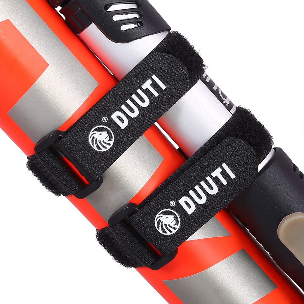 5pcs Sports Cycling Riding Adjustable Nylon Bicycle Handlebar Seatpost Tie Straps Accessories