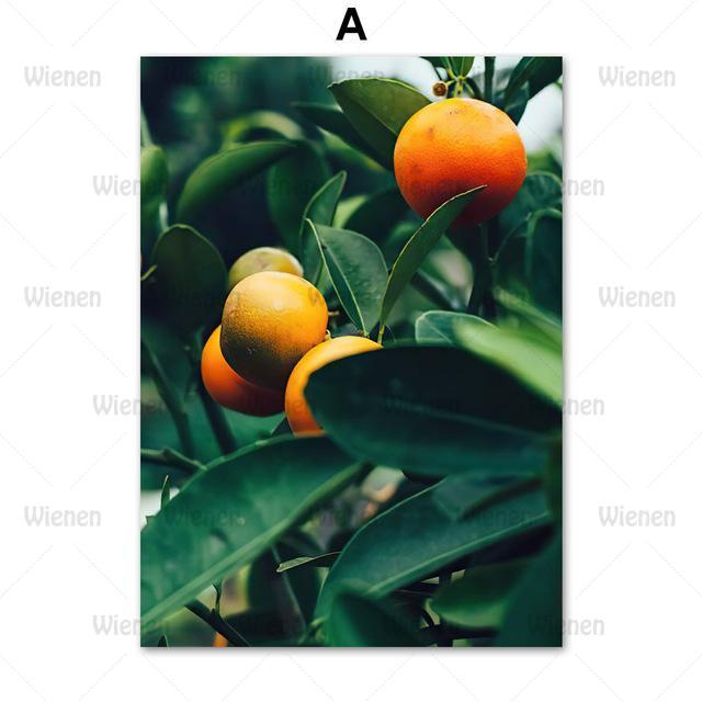Фото картина на холсте с лимонами растениями венеция в скандинавском цена