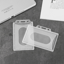Card-Holder Pass Transparent Office-Supplies Work 5pcs Multi-Use-Id