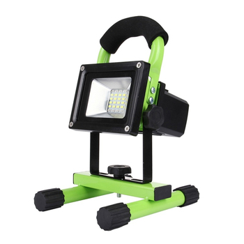Portable LED Work Light Rechargeable Waterproof Flood Light with Bluetooth 10W 900LM 24 LED SMD 5630 for Outdoor Camping Job Led