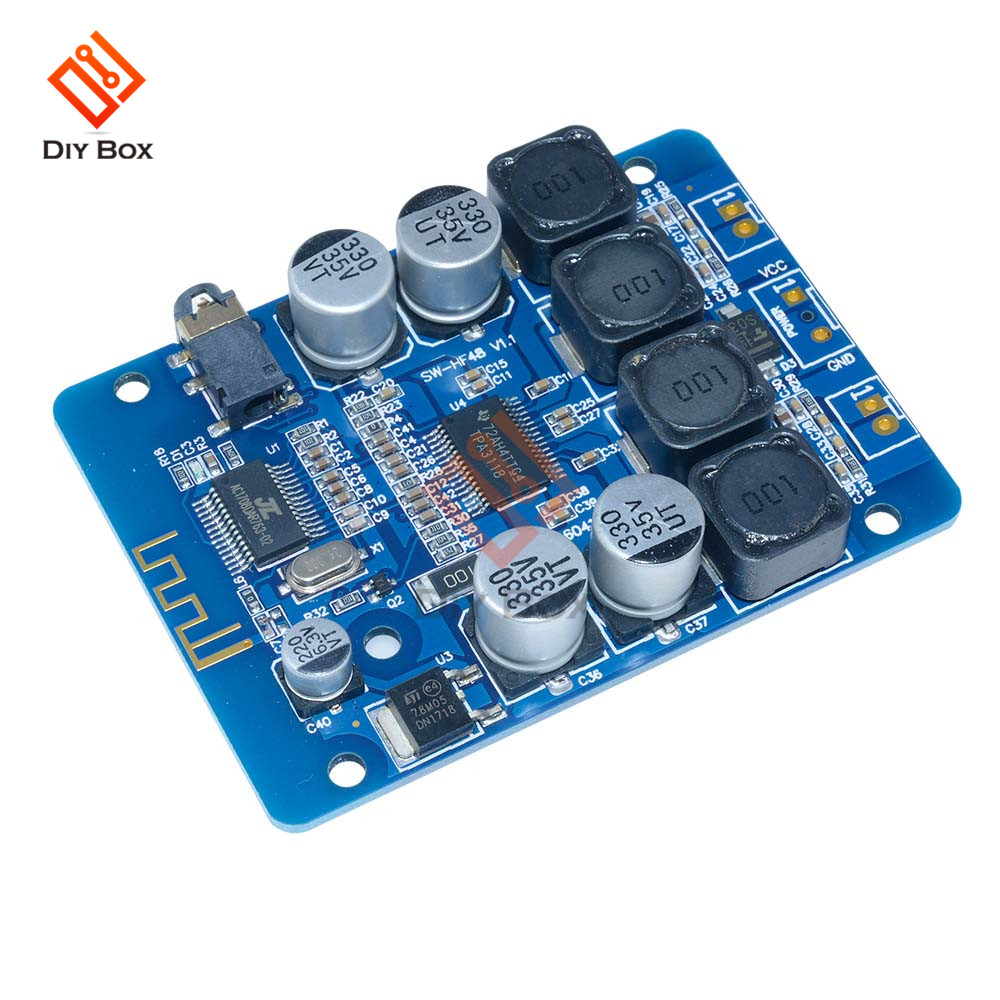 TPA3118 Bluetooth Amplifier Board 30W+30W DC 8-26V 2.0 CH Stereo Audio AMP Power Amplificador with 3.5mm AUX Jack for Speakers