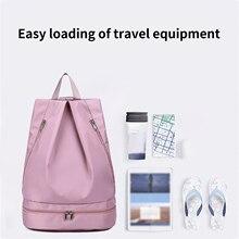 Outdoor Waterproof Backpack Bucket Dry Sack Storage Sports Gym Bags Storage  Rafting Sports Kayaking Canoeing Travel Pack