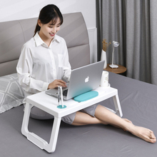 Portable Laptop Table столик для ноутбука for Working Study Folding Laptop Notebook Desk With Pen Stand for Bed Sofa