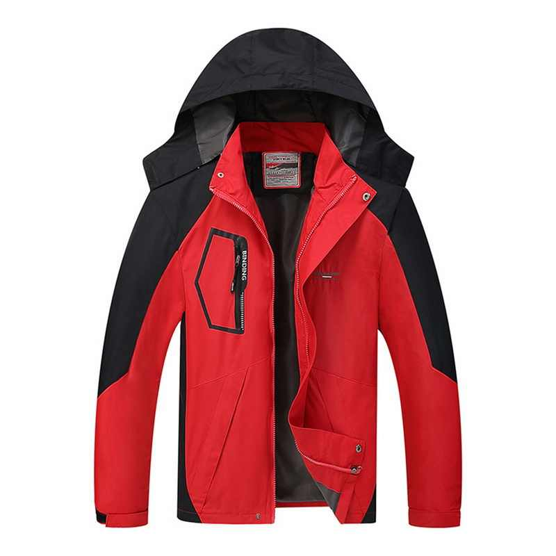 Autumn Men Outdoor Waterproof Jacket Camping Hiking Jackets Hunting Climbing Rain Fishing Sport Windbreaker