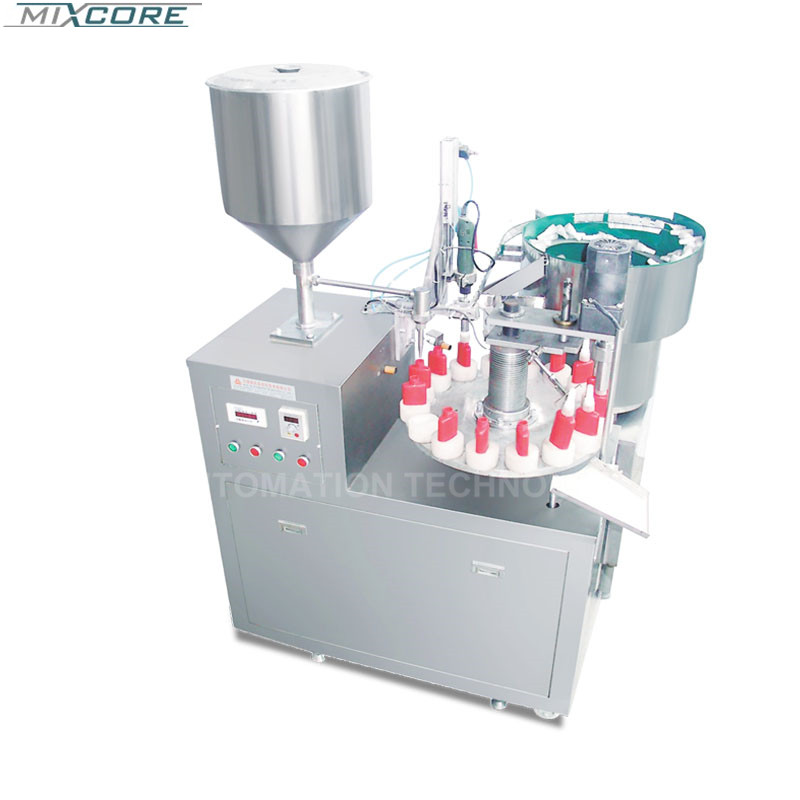 Factory Supply Stainless Steel SGX-3 Glue Filling &Screw-Cap Sealing Machine Filling Machine