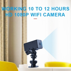 WD9 Mini Wifi Camera HD 1080P Night Vision Micro-Cam Wide-Angle Motion Detection Mini Camcorder 2800Mah Battery Support TF Card