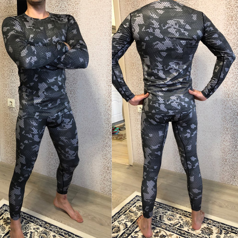 Long Tights Men Compression pants Fitness gym leggings Track suit Men Sportswear Quick-drying Slim joggers sport wear male track