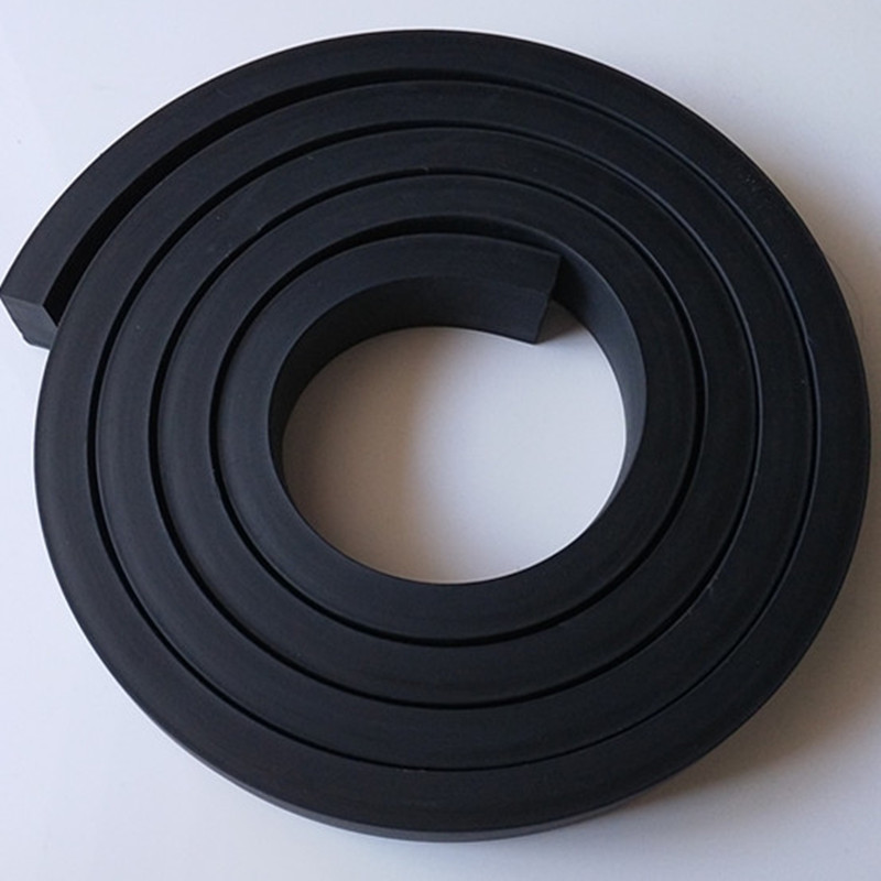 1M Solid EPDM Rubber Bar Door Window Seal Strip Square Car Sound Insulation Tape Boat Shock Cushion Antiskid Buffer Mat Black