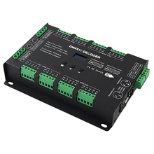 Bc-632 Dc5V-24V Constant Voltage 32Ch Dmx/Rdm Decode Driver 3A*32Ch Output Dmx512 Rgbw Controller For Rgb Rgbw Led Strips Lamp ltech dmx 150 24 f1m1 150w dmx512 rdm led driver ac100 240v input max 24v 6 25a 150w output dmx led driver push dim