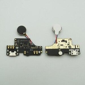 Image 1 - 1pc para Alcatel 1S 2019 de 5024 5024D 5024Y 5024K puerto de carga de estación USB macho Placa de cargador con Cable de micrófono de vibrador