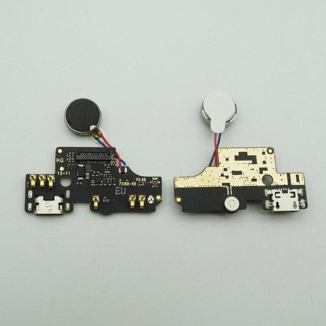 1pc para Alcatel 1S 2019 de 5024 5024D 5024Y 5024K puerto de carga de estación USB macho Placa de cargador con Cable de micrófono de vibrador