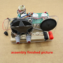 1 TEILE/LOS Fünf welle band drei lampe rohr kurzwellen radio kit ohne basis kit