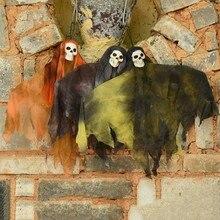 Horror Ghost Skull Halloween Hanging Haunted House Props Home Door Bar DecorationsCM
