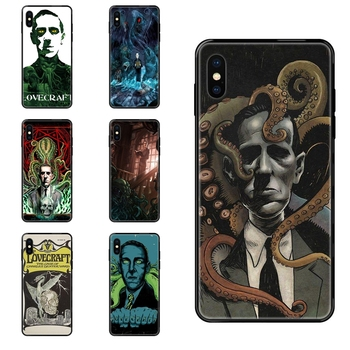 For Samsung Galaxy Note 4 8 9 10 20 Plus Pro Ultra J6 J7 J8 M30s M80s 2017 2018 Lovecraft Film Festival Sale On Black Soft TPU image