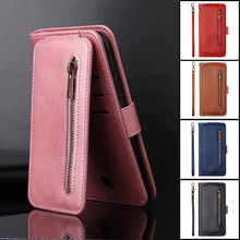 Nine Cards For Huawei P40 P20 P30 P Smart Z Plus Lite Pro 2019 Case Leather Flip Wallet Stand Cover Phone Cases