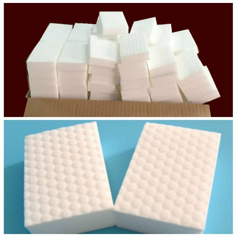 White Melamine Sponge Magic Sponge Eraser For Kitchen Office Bathroom Clean Accessory/Dish Cleaning Nano Accessory 2019 Hot
