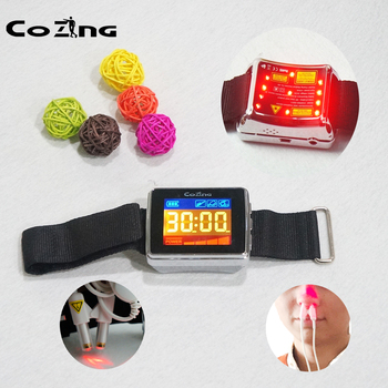 New products 2020 Laser Physiotherapy Wrist Laser Watch Diode Hypertension Treatment Diabetic