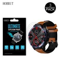 3 pacote para lemfo lem12 1.6 Polegada relógio inteligente protetor de tela pet filme para lemfo lem 12 à prova de explosão anti choque claro hd filme Protetores de tela Eletrônicos -