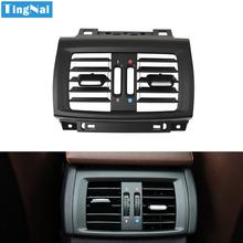 LHD RHD samochodów tylne AC świeżego nawiew klimatyzacji osłona na maskownicę Panel gniazda zamiennik dla BMW X3 X4 F25 F26 2011-2016 tanie tanio CN (pochodzenie) PC AND ABS Klimatyzacja montaż 119g Replacement 14cm X3 2011-2016 X4 2013-2016 Iso9000 17cm 6422 9200 888