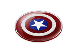 Avengers Qi Wireless Charger Charging Pad for iPhone X 8 8 Plus SAMSUNG S6 S7 S8 edge NOTE5 Nexus 4/5 Lumia 920