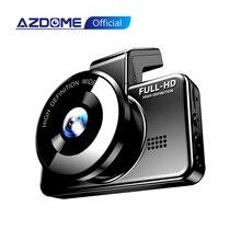 كاميرا ميني داش من AZDOME, كاميرا سيارة مدمجة بعدسة مزدوجة وخلفية 24 ساعة لوقوف السيارات M17 1080P