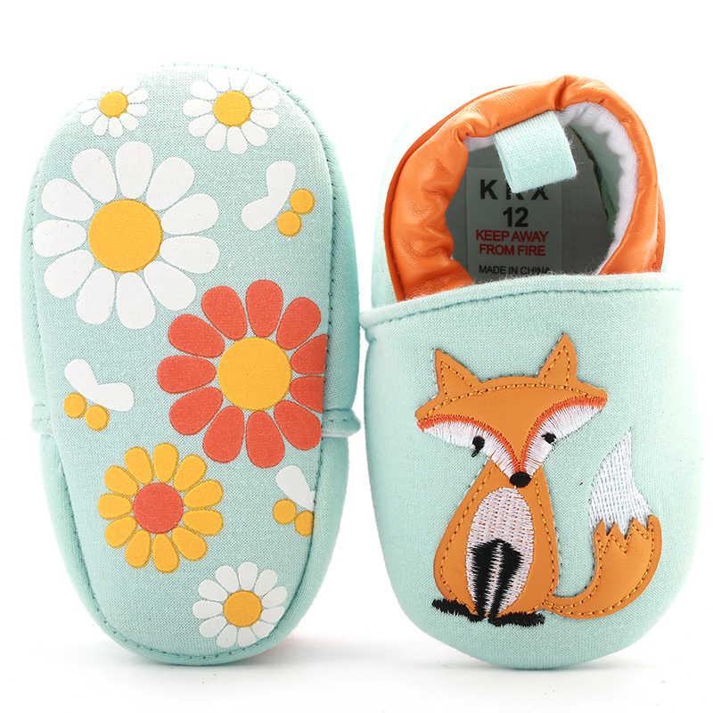 [Simfamily] เด็กเด็กแรกWalkersนุ่มทารกเด็กวัยหัดเดินรองเท้าดอกไม้น่ารักSoles Cribรองเท้ารองเท้าสำหรับทารกแรกเกิดรองเท้าเด็ก