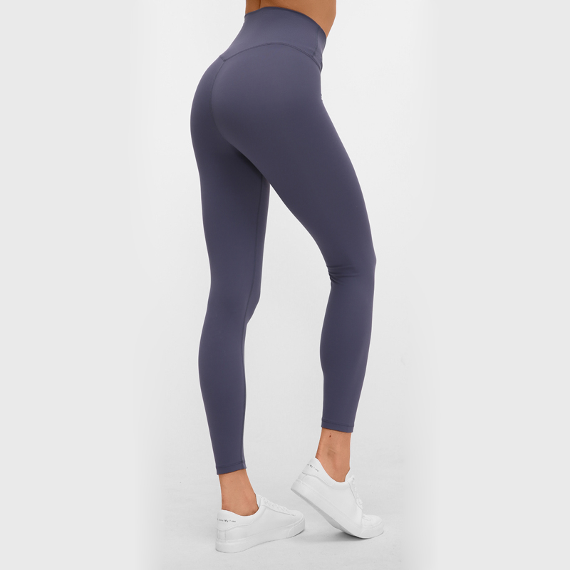 Nepoagym 7/8 RHYTHM 12 Colors High Waist Women Yoga Pants Naked-feel Yoga Leggings Stretchy Gym Leggings Woman Workout Leggins