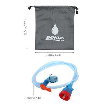 Outdoor Climbing Water Bottle Drink Tube Hose Water Bag Hydration Bladder Reservoir Pack Backpack System Hose Kit For Drinking