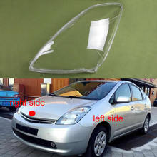 Front Headlamps Transparent Cover Lampshade Lamp Shell Masks Headlight Shell Lens for Toyota Prius 2005 2006 2007
