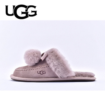 UGG Slippers Fur Women Ladies Fashion Casual Platform Slippers UGGS Winter Warm Ugg Slides Furry