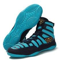 Боксерская обувь для мужчин легкие боксерские кроссовки дышащие