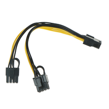 Power-Connector Splitter-Cable Gpu pci-E Pci Express 6pin 8pin 1PC 2pin