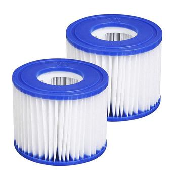 цена на 2PCS Inflatable swimming pool pump filter hot tub spa filter filter element pump replacement inflatable hot spring swimming