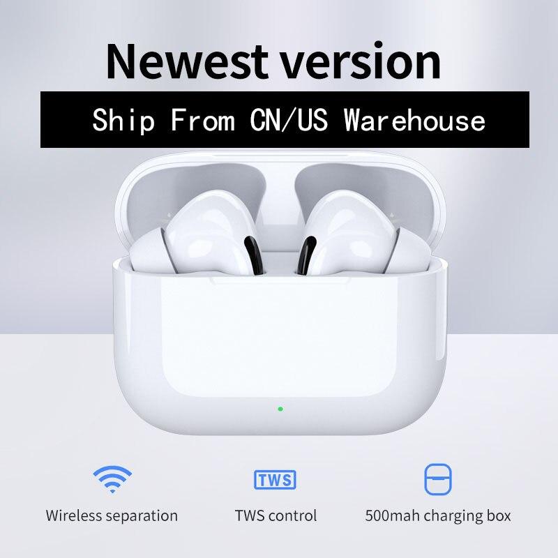 Про воздух 3 СПЦ Airpodering наушники Bluetooth Беспроводные наушники стерео наушники гарнитуры клон ПК I90000 и12 2 для Apple Андроид