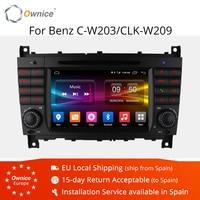 4G SIM LTE Octa 8 Core 2 DIN Android 6 0 Auto DVD GPS Für Mercedes W203 W219 2004- 2007 C200 C230 C180 C320 C350 CLK W209 C klasse