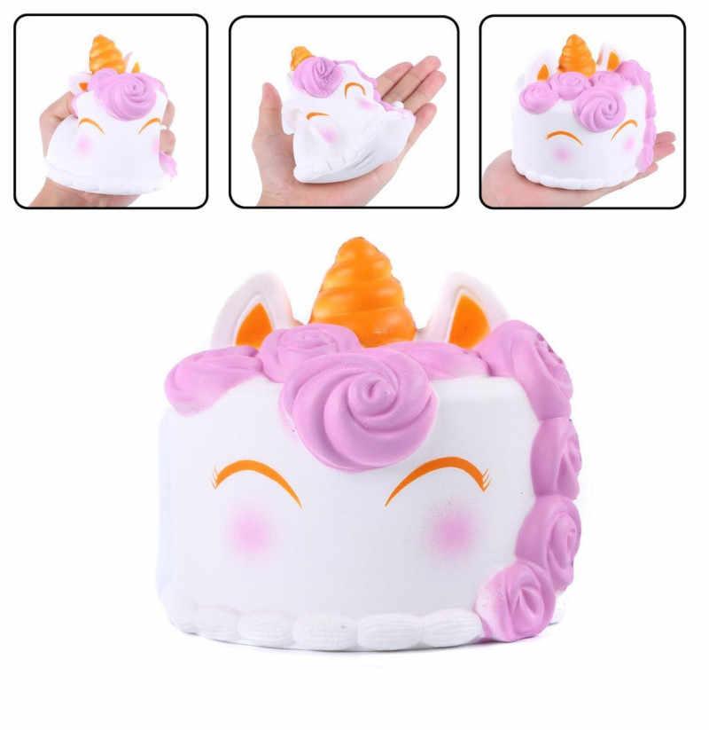 Забавные игрушки для детей с синдромом аутизма торт мягкий Декор медленно поднимающийся ребенок игрушка облегчить Anxiet подарок игрушки для детей PU моделирование мороженое