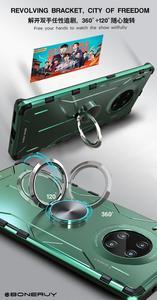 Nowy Design etui na telefon do Huawei P30 Mate 20 30 Nova 5 Pro pokrowiec metalowy ochronny rękaw mobilny odporny na wstrząsy z podstawką