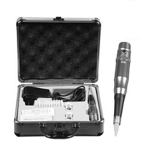 Elektrische Tattoo Maschine set Für Für Augenbrauen Lip Eyeliner Permanent Make Up Microblading Stift Tattoos mit Nadeln Aluminium Box