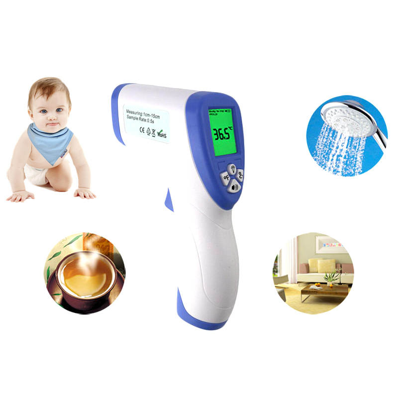 Digitális infravörös infravörös hőmérő érintésmentes baba - Mérőműszerek - Fénykép 5