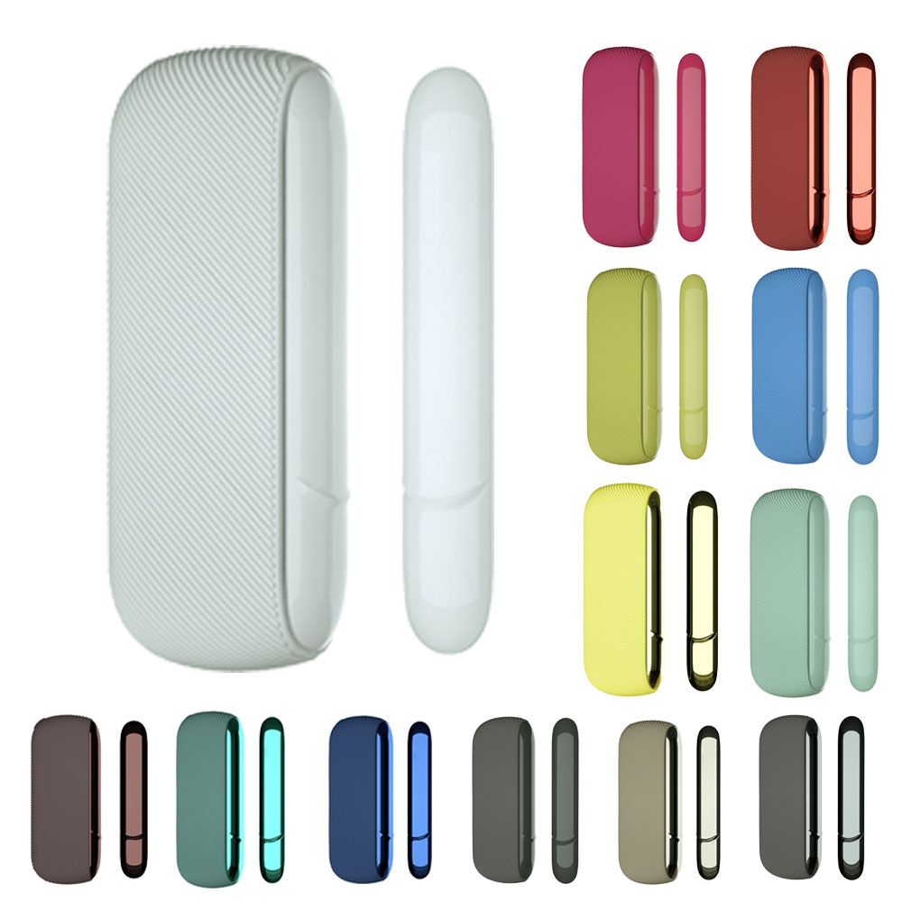 13 Colors Silicone Side Cover Full Protective Case Pouch For IQOS 3.0 Outer Case For IQOS Duo Accessories