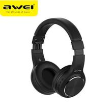 Original AWEI A600BL bluetooth Headphone ANC Noise Reduction Wireless bluetooth Headset Headphone wi