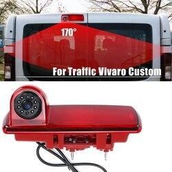 Câmera retrovisor do carro câmera luz de freio câmera à prova dwaterproof água para renault vivaro tráfego personalizado