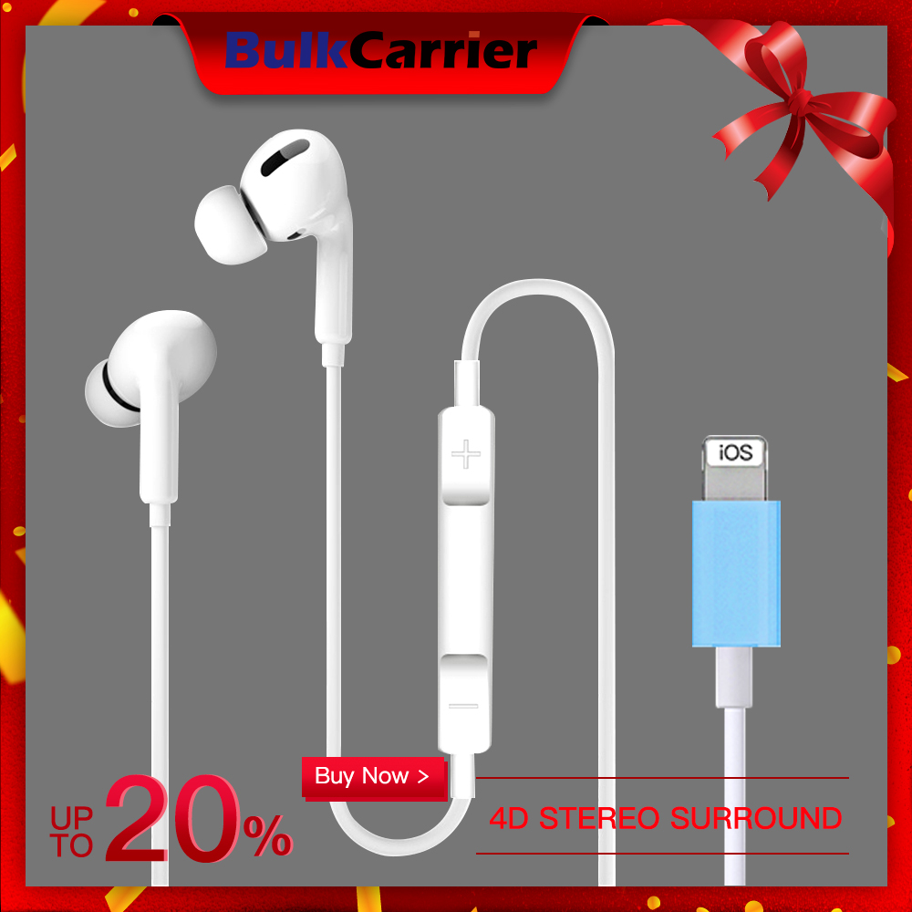 Air Pro 3 Wired Earphones Bluetooth Headphones For Iphone 10 11 Pro Bass Earbuds Music Headset With Mic Earpiece For Iphone 7 8 Bluetooth Earphones Headphones Aliexpress